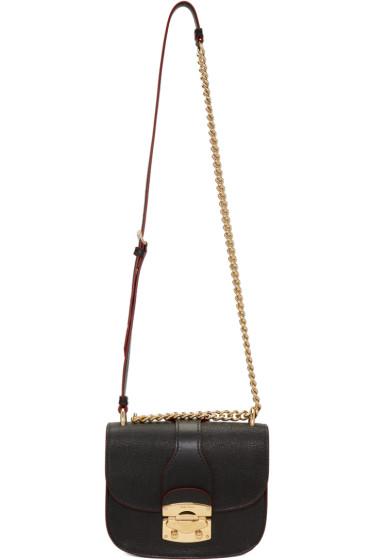 Miu Miu - Black Classic Lock & Chain Bag