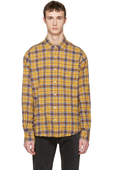 Faith Connexion - Yellow Plaid Shirt