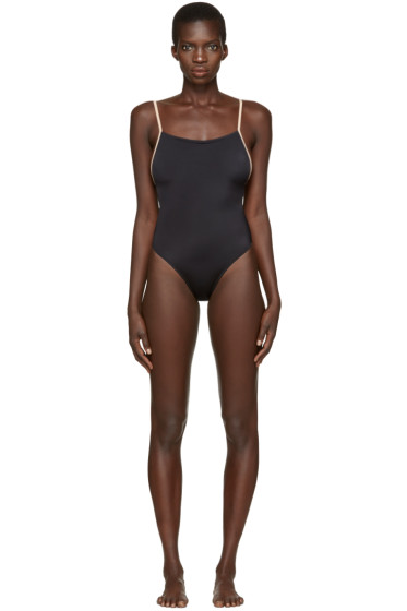 Solid & Striped - Black The Chelsea Swimsuit