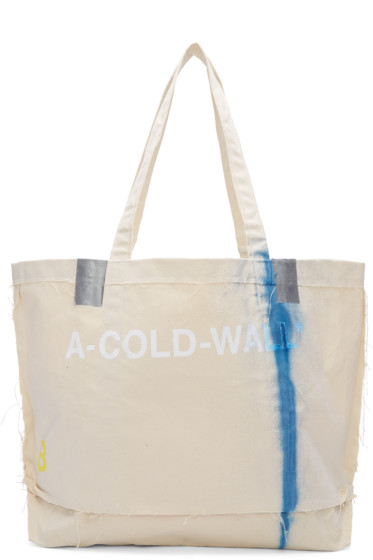 A-Cold-Wall* - ベージュ インダストリアル セメント バッグ