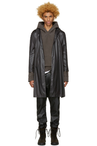 A-Cold-Wall* - Black Nylon Raincoat