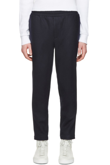 Aimé Leon Dore - SSENSE Exclusive Navy Wool Trousers