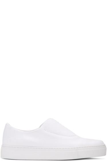 Primury - White Fabl Sneakers