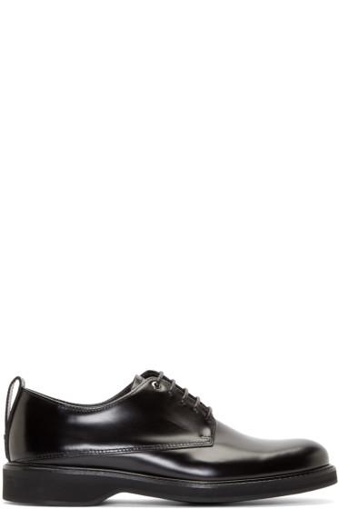 Want Les Essentiels - Black Leather Montoro Derbys