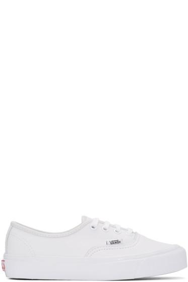 Vans - White OG Authentic LX Sneakers