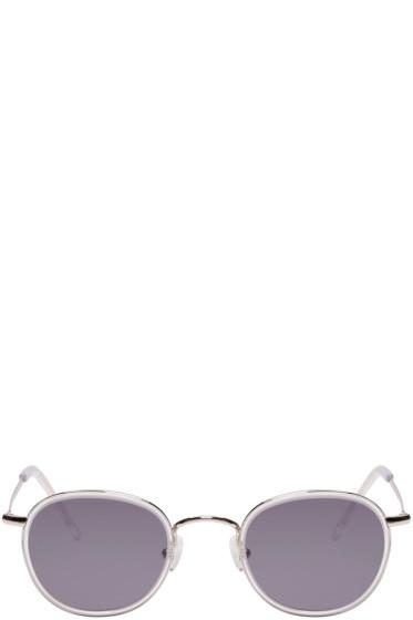 All In Eyewear - Silver Round Sunglasses