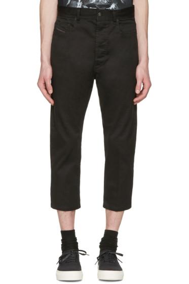 Diesel - Black D-Brad-A Trousers