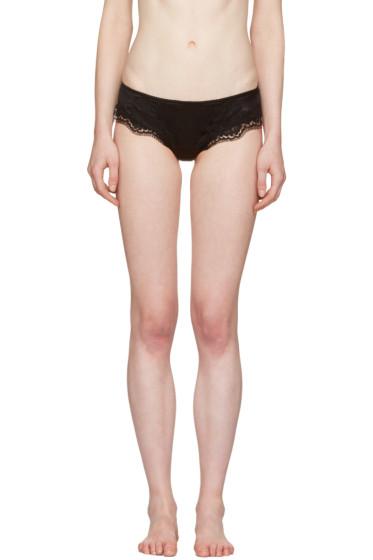 Dolce & Gabbana - Black Lace Briefs