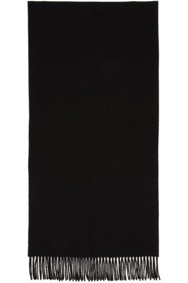 Acne Studios - Black Canada Narrow Scarf