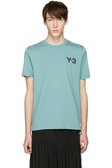 Y-3 - Green M Cl T-Shirt