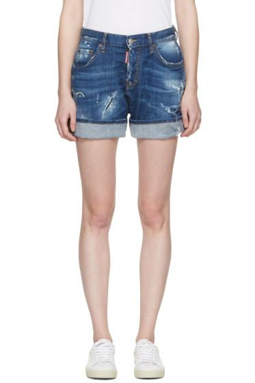 Dsquared2 - Blue Kawaii Shorts