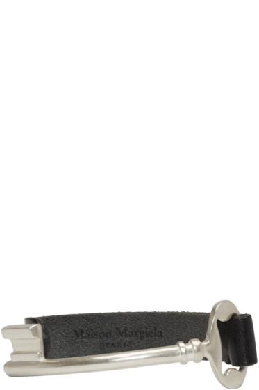Maison Margiela - Silver & Black Key Bracelet