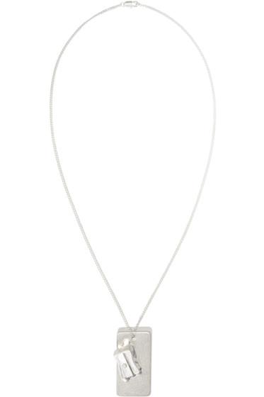 Maison Margiela - Silver Pencil Sharpener Pendant Necklace