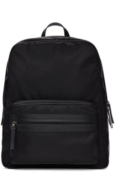 Maison Margiela - Black Nylon Backpack
