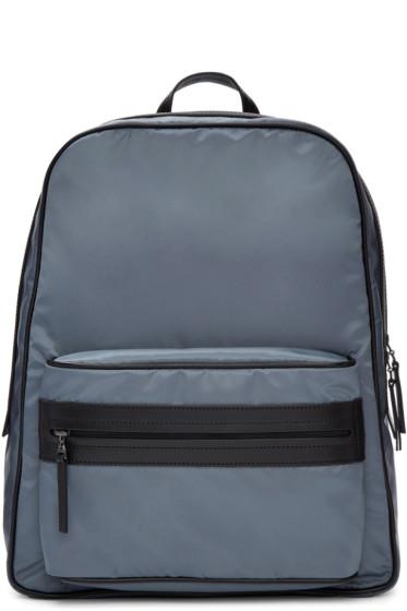 Maison Margiela - Blue Nylon Backpack