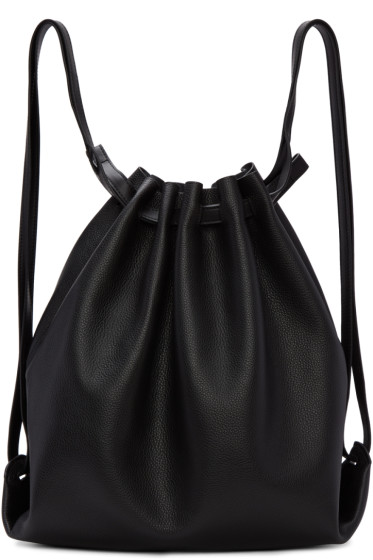 Alexander Wang - Black Leather Rucksack
