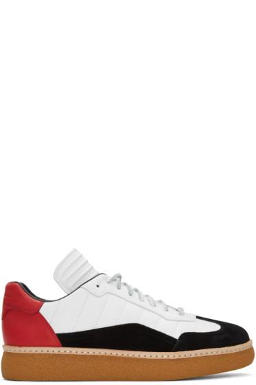 Alexander Wang - Tricolor Leather & Suede Eden Sneakers