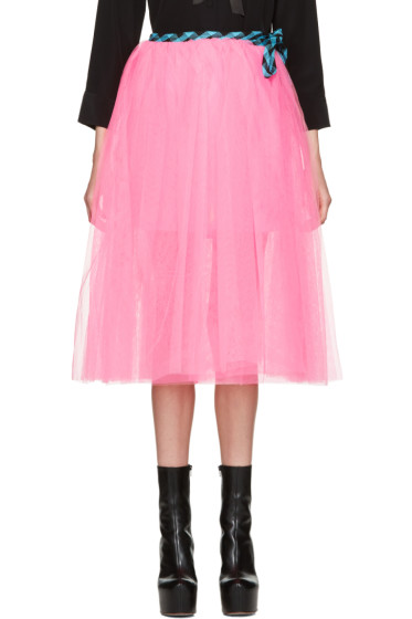 Marc Jacobs - Pink Tulle Wrap Skirt