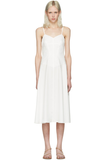 T by Alexander Wang - Ivory Poplin Cami Dress