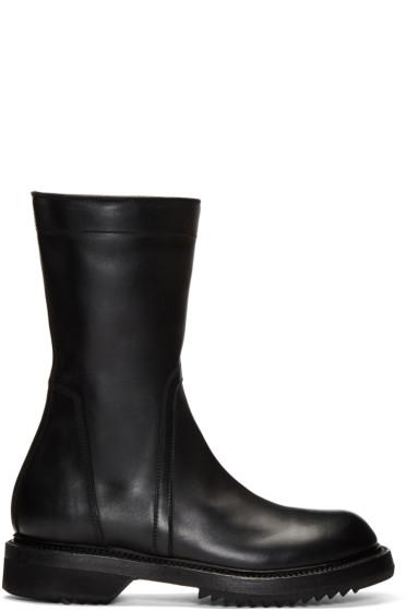 Rick Owens - Black Creeper Boots