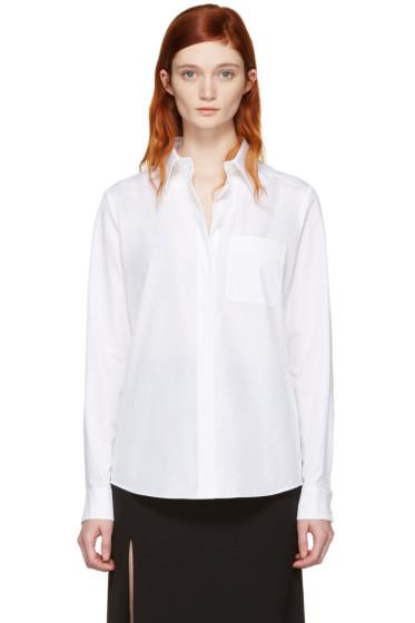 Lanvin - White Logo Shirt