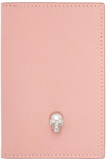 Alexander McQueen - Pink Skull Pocket Organizer