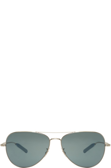 Paul Smith - Silver Davison Aviator Sunglasses
