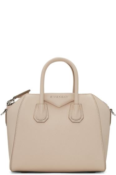 Givenchy - Beige Mini Antigona Bag