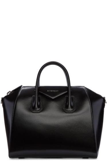 Givenchy - Black Medium Antigona Bag
