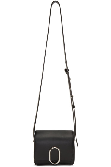 3.1 Phillip Lim - Black Mini Alix Flap Bag