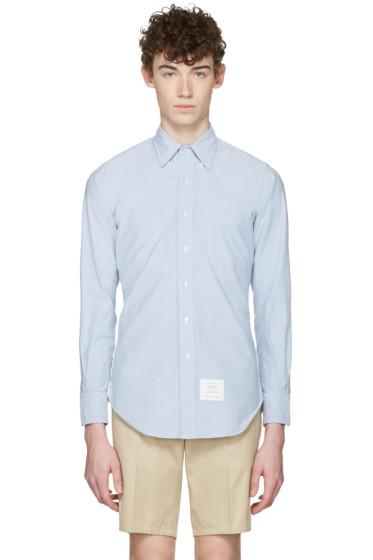 Thom Browne - Blue Oxford Classic Shirt
