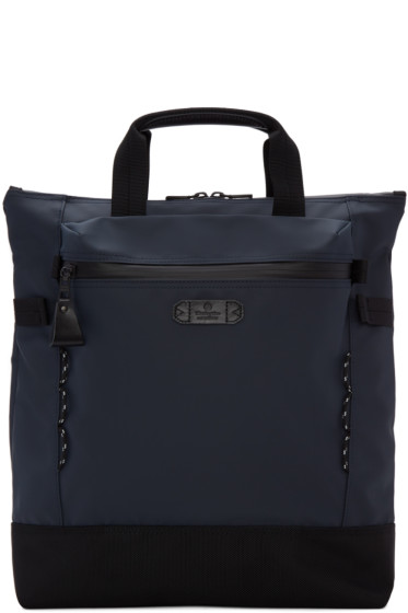 Master-Piece Co - Navy Zip Pouch Tote Bag