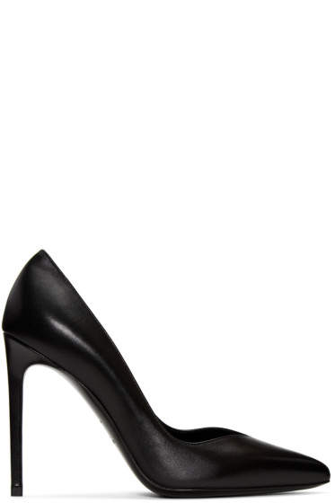 Saint Laurent - Black Paris Skinny Heels