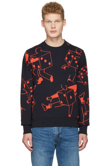 PS by Paul Smith - Navy Dice Pullover
