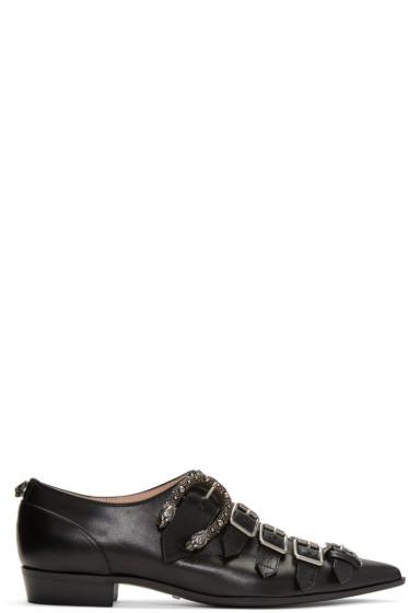 Gucci - Black Susan Monkstraps