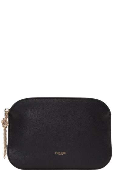 Nina Ricci - Black Leather Elide Pouch