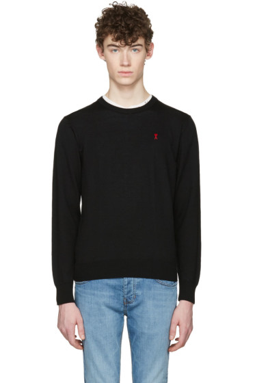AMI Alexandre Mattiussi - Black Ami De Coeur Sweater