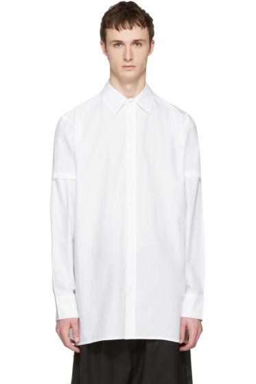 D by D - White Disco City Print Shirt