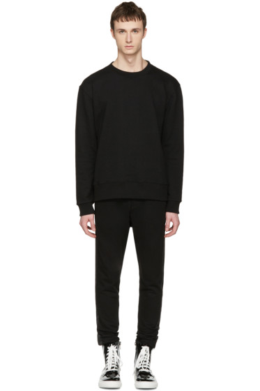 D by D - Black Mesh Panel Pullover