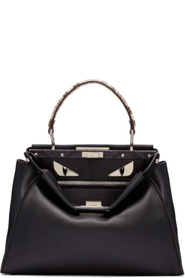 Fendi - Blue Regular Peekaboo Bag