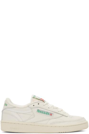 Reebok Classics - Off-White Club C 85 Sneakers