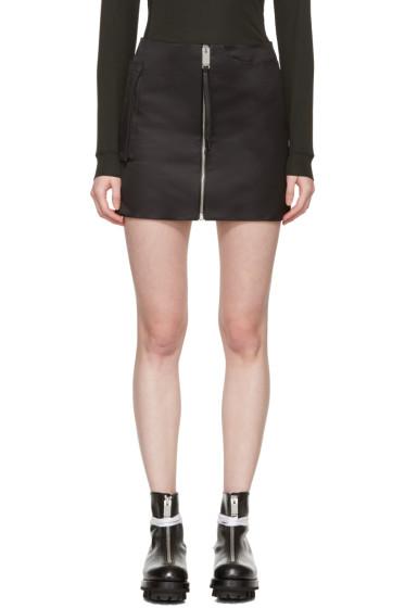 Alyx - Black Zip Pocket Miniskirt