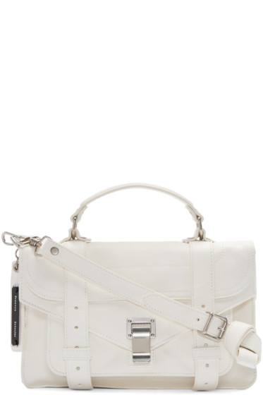 Proenza Schouler - White PS1 Tiny Satchel