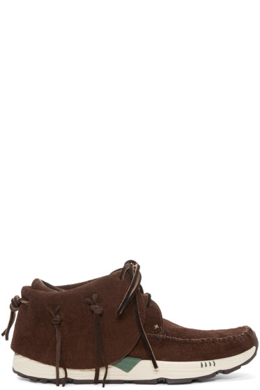 Visvim - Brown FBT Prime Mocassins