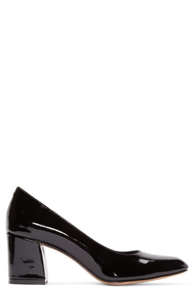 Maryam Nassir Zadeh - Black Patent Two-Tone Pumps