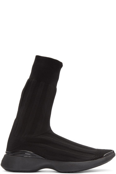 Acne Studios - Black Betilda High-Top Sneakers