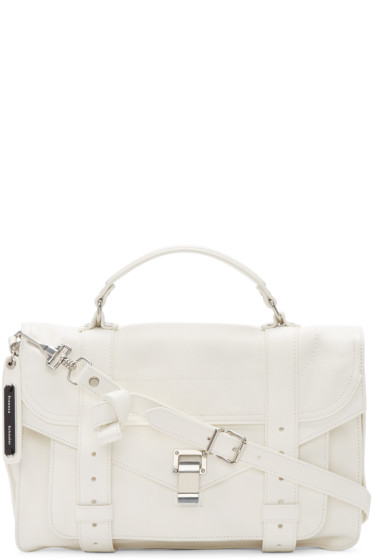 Proenza Schouler - White Medium PS1 Satchel