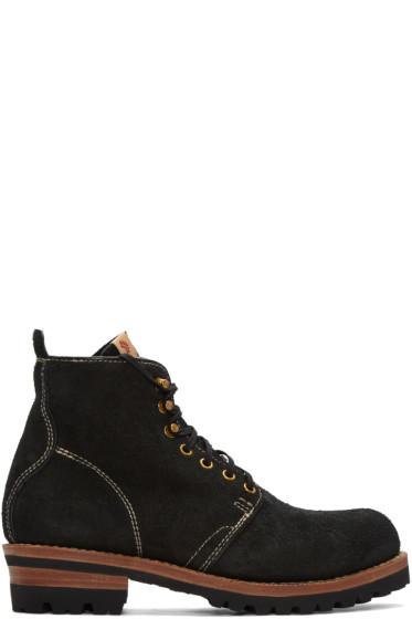 Visvim - Black Folk Zermatt Boots