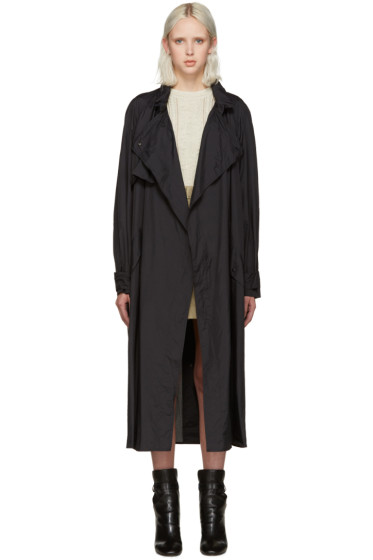 Isabel Marant - Black Dracen Trench Coat
