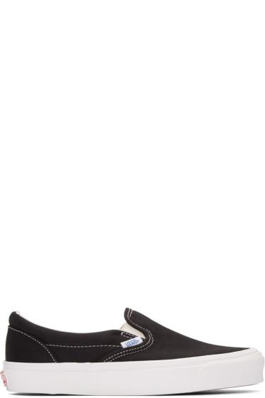 Vans - Black OG Classic Slip-On Sneakers
